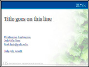 ITS Blue Site Template.